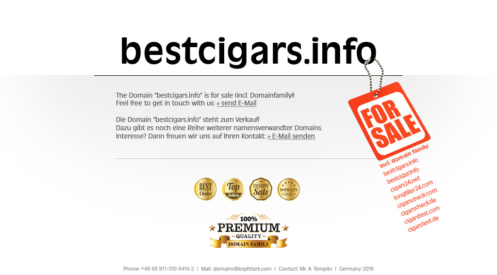bestcigars info - Domain for sale!